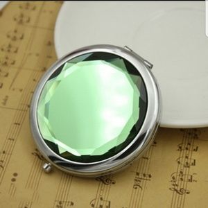 Other - GREEN JEWEL Compact Mirror by Vivid Rose